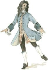 Male Baroque Dancer